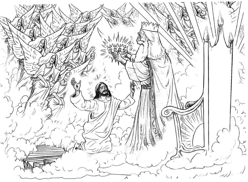 Free Coloring Pages Of Heaven For
